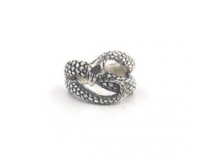Mercurial Snake Ring