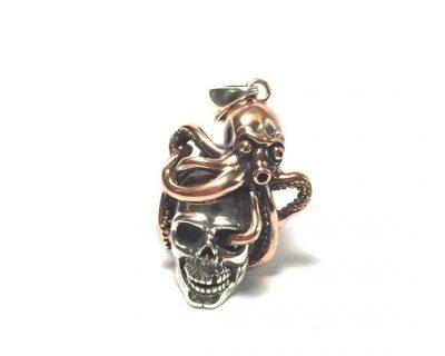 Octopus Skull Pendant
